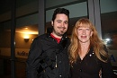 The BackStage - David y  Loreena McKennitt